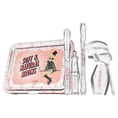 Soft & Natural Brows - Kit sourcils naturels de Benefit Cosmetics sur Sephora.fr