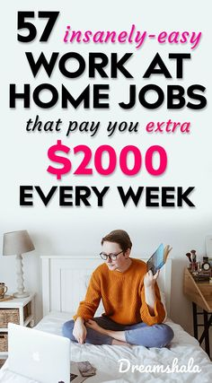 57 Websites That Provide Opportunities To Work From Home Jobs And Earn Money Online – Make Money from Home Cash From Home, Earn Money From Home, Earn Money Online, How To Get Money, Online Jobs, Money Fast, Amazon Jobs At Home, Online Websites, Work From Home Companies