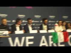 Marco Mengoni Conferenza stampa #Eurovision Song Contest 2013