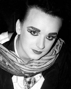 Solo Music, Culture Club, Rhythm And Blues, Boy George, Many Faces, Pop Bands, Black White Photos, Reggae, Singer