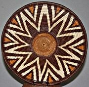 Handcrafted Botswana Baskets. This one was made by Diidhi Disho of the Etsha Weavers Group;  $180