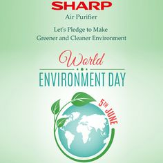 """Let's pledge to make Greener and Cleaner Environment on this """"World Environment Day"""". #worldenvironmentday #environmentday #saveplanet  #greenpeace"""