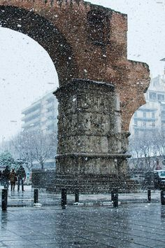 Places To Travel, Places To Visit, Macedonia Greece, Greek Beauty, Winter Wonder, Thessaloniki, Round Trip, Amazing Destinations, Scenery