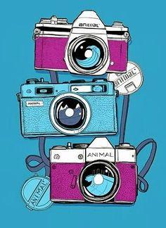 Checking for Key Digital Camera Features – photography venue Illustration Mode, Photo Illustration, Digital Illustration, Camera Drawing, Camera Art, Toy Camera, Pop Art, Camera Photos, Design Graphique