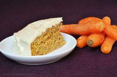 Einfacher Karottenkuchen mit Frischkäse-Schoko-Frosting (via Bloglovin.com )