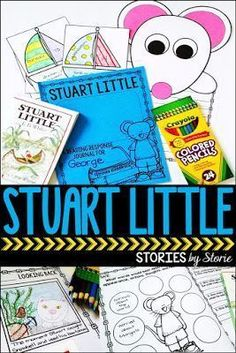 Stuart Little - comprehension questions, vocabulary activities, graphic organizers, and a mouse craft