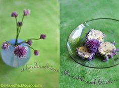 Schnittlauchblüten-Butter  http://s-kueche.blogspot.de