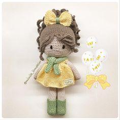 Irresistible Crochet a Doll Ideas. Radiant Crochet a Doll Ideas. Crochet Amigurumi, Crochet Doll Pattern, Amigurumi Patterns, Amigurumi Doll, Crochet Patterns, Doll Patterns, Crochet Fairy, Cute Crochet, Beautiful Crochet
