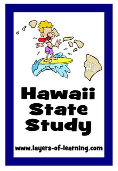 Use this Hawaii State Study guide to learn fun facts and color a map about the 50th state.