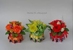 Chocolate San Valentin, Candy Centerpieces, Diy Flowers, Chocolates, Bouquet, Place Card Holders, Diy Crafts, Mini, Creative