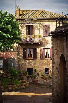 Montichiello, Tuscany