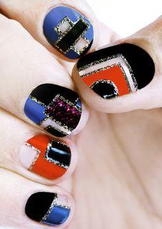 retro nails!