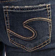 SILVER JEANS SALE Buckle Mid Rise Suki Skinny Dark Stretch Jean 30 ...