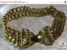 25 Christmas SALE Goldette Two Strand Chain by DLSpecialties, $20.25