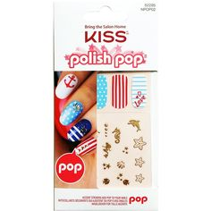 Kiss Polish Pop Nail Art Accent Stickers #NPOP02  $4.05 Visit www.BarberSalon.com One stop shopping for Professional Barber Supplies, Salon Supplies, Hair & Wigs, Professional Product. GUARANTEE LOW PRICES!!! #barbersupply #barbersupplies #salonsupply #salonsupplies #beautysupply #beautysupplies #barber #salon #hair #wig #deals #Kiss #Polish #Pop #NailArt #Accent #Stickers #NPOP02