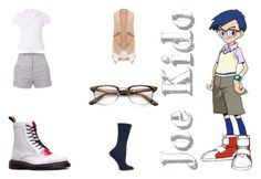 Joe Kido (Digimon) 1 by mimifan96 on Polyvore featuring polyvore, fashion, style and clothing