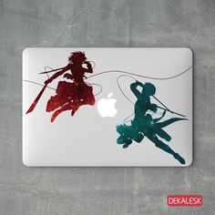 Attack on Titan - MacBook Decal. Made from premium material. Macbook Skin, Macbook Decal, Macbook Air 11, Macbook Pro Retina, Attack On Titan, Moose Art, Decals, Presents, How To Apply