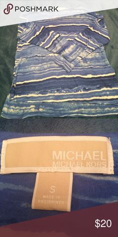 A MK Top! Perfect condition! NWOT! Coming from a smoke free home! Same or next day shipping! Bundle and save! MICHAEL Michael Kors Tops Blouses