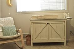 build your own changing table