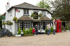 The Oak Inn at Bank, near Lyndhurst, New Forest. One of the best old English pubs you will find