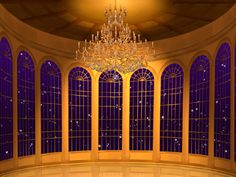 I'll also have a ball room just like the on in Beauty and the Beast. That way, I could have lots of fun parties.