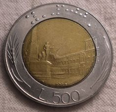 1988 Italy 500 Lira - Coin Community Forum