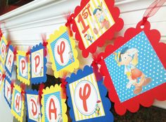 PARTY PACK SPECIAL Pinocchio Inspired Happy by EmeraldCityPaperie, $49.00