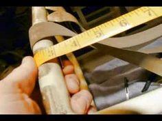 Repair Patio Furniture Vinyl Straps   Shallow Slot To Short Rivet Conversion