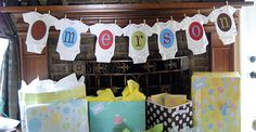 B is for Baby - baby shower
