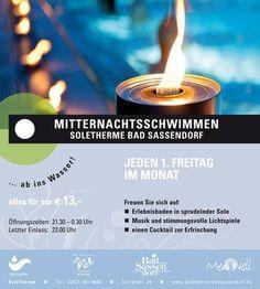 Bad Sassendorf - SoleTherme > Mitternachtsschwimmen