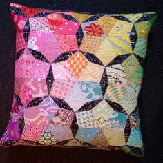 The finished birthday pillow! | Flickr - Photo Sharing!