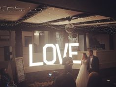 LOVE signs are stunning for both the ceremony and reception Burgundy Room, Love Signs, Reception Rooms, Phone Backgrounds, Weddingideas, Cabin, Warm, The Originals, Beautiful