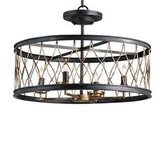 Buy the Currey and Company 9902 French Black / Pyrite Bronze Direct. Shop for the Currey and Company 9902 French Black / Pyrite Bronze Crisscross Convertible 4 Light Single Tier Chandelier / Flush Mount Ceiling Fixture and save. Chandelier Design, Black Chandelier, Chandelier Lighting, Designer Chandeliers, Candle Lighting, Ceiling Fixtures, Light Fixtures, Ceiling Lights, Ceiling Lamp