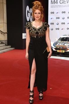 Palina Rojinski Alle Wollen Die Frisur Der Queen Of Comedy Haare