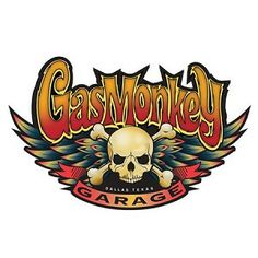 Gas Monkey Garage Skull Vinyl Sticker Diecut 2 Stickers C. Gas Monkey Logo, Gaz Monkey, Crane, Decals For Yeti Cups, Gas Monkey Garage, Garage Art, Garage Signs, Hood Ornaments, Cars