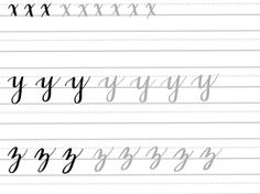 These brush lettering practice sheets will help you master the lowercase alphabet in no time! Brush Lettering Worksheet, Calligraphy Worksheet, Hand Lettering Practice, Calligraphy Practice, Creative Lettering, Lettering Styles, Lettering Design, Creative Writing, Alphabet Practice Sheets