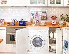 No le des más vueltas: dónde poner la lavadora en casa
