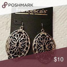 Francesca earrings Brand new earrings. Jewelry Earrings