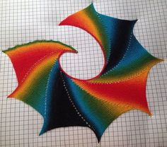 Tunisian Wingspan Shawl By Amy Depew - Free Crochet Pattern - (ravelry)