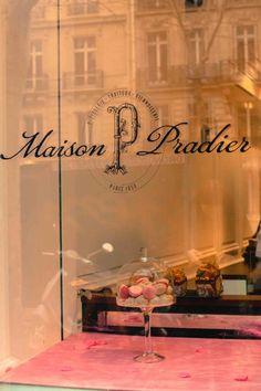 Classic Paris Patisserie Window
