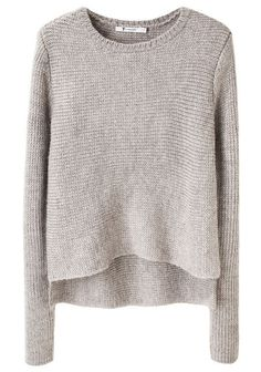 t by alexander wang grey sweater