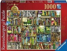 Puslespill 1000 bookshop