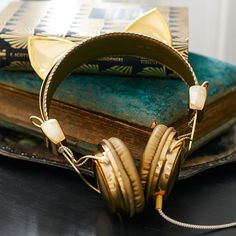 pb teen, emily & meritt animal headphones.