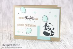 Sale a bration 2018; Stampinup Geschenke; Stampin Up Party-Pandas; Pandakarte; stampinup Stempelparty, match the sketch; Colorieren mit stampin blends