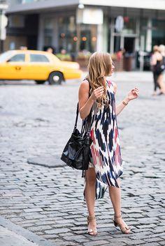 eatsleepwear, otte, rachel-zoe, schutz, nyc summer dress sunglasses shoulder bag black women outfit apparel fashion clothing style