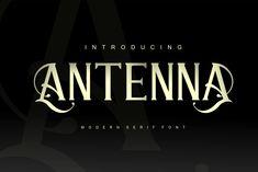 Antenna Font | dafont.com