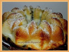 Mamka varí  ♥                     : TVAROHOVÁ BÁBOVKA Slovakian Food, Russian Recipes, Dessert Recipes, Desserts, French Toast, Bread, Bundt Cakes, Breakfast, Polish
