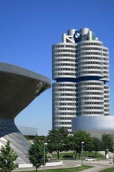 BMW Headquarters, Munich,Germany by jeri