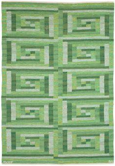 A #Swedish Flat #Weave #Rug