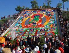 Avalokitesvara's Green Tara at Ta'er Temple, Qinghai lake, Tarim Basin China